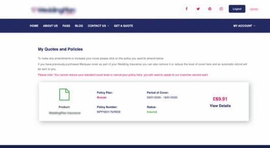i2go features - customer service portal 2