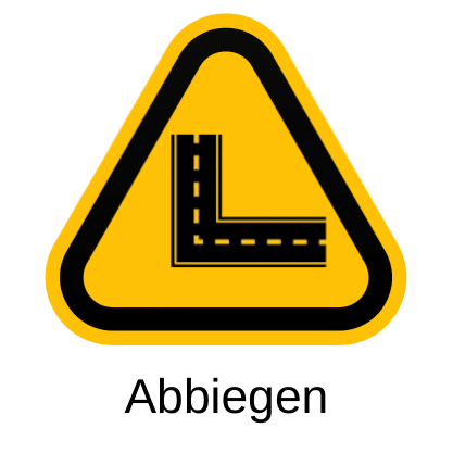 abbiegen icon