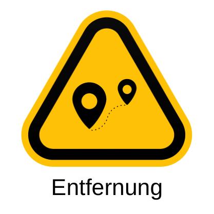 entfernung icon