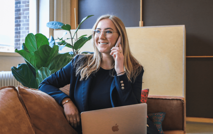 Insurance customer engaged through phone